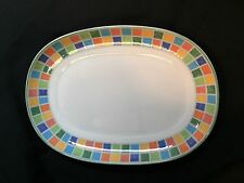 "Villeroy and Boch Twist Alea Limone Relish/Gravy Underplate 7.75"" ~new~"