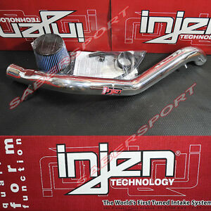 Injen RD Series Polish Cold Air Intake Kit for 1992-1996 Honda Prelude DOHC