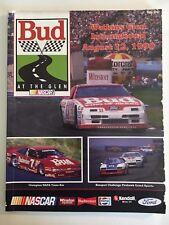 BUD AT THE GLEN RACE PROGRAM  - AUGUST 12, 1990
