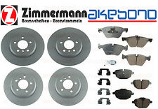 BMW F10 535d 535i Friction Brake Kit Front & Rear Zimmermann  Akebono NEW