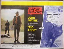 Action Original UK Quad Film Posters (1970s)