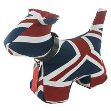Monica Richards DOG doorbanger STOFFA CASA REGALO TESSUTO LONDRA-Union Jack 57309