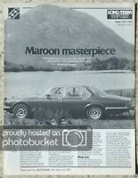 JAGUAR XJ6 4.2 Automatic LONG TERM Road Test Report 14 Feb 1981 AUTOCAR REPRINT