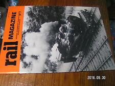 1ùµ?  Revue Rail Magazine n°7 CC 1100 232R-S J-A Petiet P.O Correze