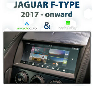Jaguar F-Type 2017-Onward InControl Touch Android Auto & CarPlay Integration pk