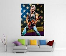 BRUCE SPRINGSTEEN BORN IN THE USA TO RUN THE RIVER GIANT WALL ART PRINT POSTER