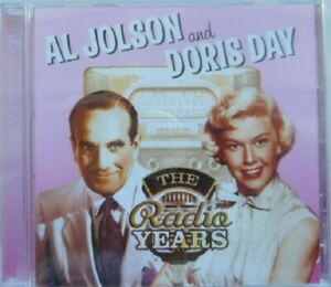 AL JOLSON & DORIS DAY:  THE RADIO YEARS  NEAR MINT CD FROM 2004