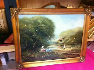 Ted Dyer original oil on canvas