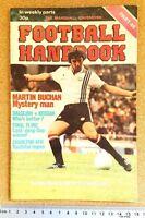 MARSHALL CAVENDISH Football Handbook 1970s - VARIOUS