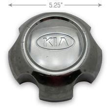"1- 01 02 Kia Sportage 084 37 180 15"" 7 Spoke Wheel Center Caps Hubcap OEM"