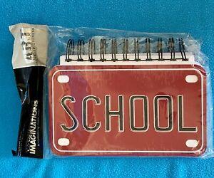 School License Plate Album - Danielle Johnson Art Warehouse - NIP/NOS