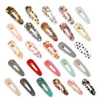 Women Girls Barrette Small Hair Clips Slide Multi-Color Clip Hair Accessories