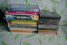 bundle of of 20+ old PC games and software