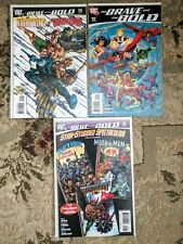 The Brave and the Bold #9,12,15 **THREE ISSUE LOT** (DC 2007)Batman, Green Arrow