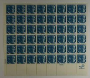 US SCOTT 1770 PANE OF 48 ROBERT KENNEDY STAMPS 15 CENT FACE MNH
