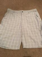 Lululemon Light Gray Plaid Shorts. Great Condition, See Details. Men's Size 36.