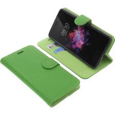 Borsa per TP-LINK neffos x1 Max Book-Style guscio protettivo Libro Custodia Cellulare Verde
