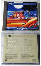 THE ROCK´N´ROLL ERA 1961 / 24 O-Hits John Leyton, Shadows,... 1992 Time Life CD