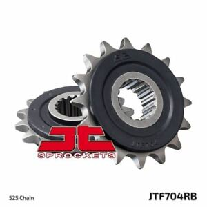 JT Rubber Cushioned Front Drive Motorcycle Sprocket JTF704RB 17 Teeth