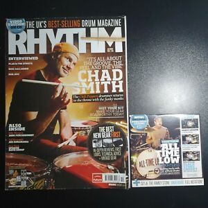 Rhythm Magazine October 2011 No.195 (218) (With CD) Chad Smith All time Low