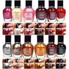 12 PCS KLEANCOLOR NAIL POLISH RED PINK BROWN GOLD LACQUER COLLECTION KNP7+KNP8