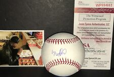 Luis Robert Chicago White Sox Autographed Signed Baseball JSA WITNESS COA