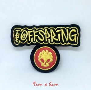 The OffSpring American Rock Band Iron on Sew on Embroidered Patch #1383