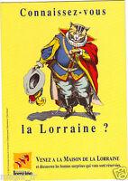 Publicité - cpm - Maison de la Lorraine - PARIS  (H1435)