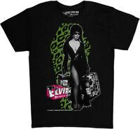 Elvira Leo Luggage Black Unisex Adult Short Sleeve Tee Shirt (2XL) [New ] Blac