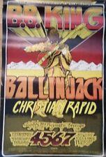 Original, BB KIng Filmore Poster