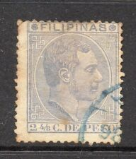 Philippines 1880s Classic Alfonso Used Value 2.4/8c. 182413