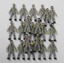 "lot 20 Bloks Call of Duty Zombies Outbreak The Walking Dead action figure 2"" #S5"