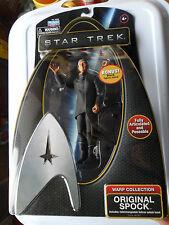 "Star Trek original Spock Figure 6 ""Warp collection + Commutable Vulcan salute"