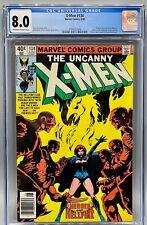 Uncanny X-Men 134 (NEWSSTAND EDITION) CGC 8.0