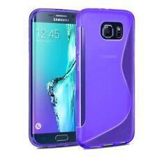 Étuis, housses et coques violets Samsung Galaxy S6 edge pour téléphone mobile et assistant personnel (PDA) Samsung