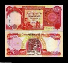 IRAQ 25000 25,000 IRAQI DINARS P96c 2006 KURD BABYLON KING UNC BILL MONEY NOTE