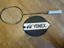 Vintage Yonex RY-800 Badminton Racket. Full carbon shaft with head cover. 114g