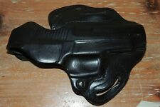 L@@K NWOT OLD STOCK Desantis #001 80 THUMB SCABBARD HOLSTER BLACK LEATHER RIGHT?
