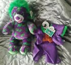 NWT Build a Bear Joker Batman plush with clothes Limited Edition Retired 2019