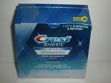 Crest 3D Whitestrips Kit 1 Hour Express 7 Teeth Dental Treatments EXP 9/2020