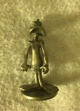 1999 Daffy Duck Monopoly Looney Tunes Edition Mover Piece Fig Toons Pewter WB