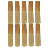 10pcs 10 Bb Tenor Saxophone Reeds 2.5 Reed Box