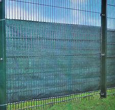 Zaunsichtschutz 5 x 1m, UV-beständig, Sichtschutz, Zaunschutz inkl. Kordel /NEU!