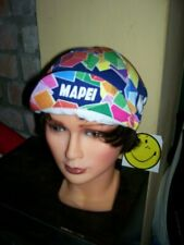 Vintage Cycling hat cap Mapei '80s cappellino ciclismo bici Eroica