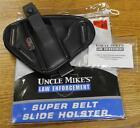 Uncle Mike's Mirage Belt Slide Holster 5 Shot Hidden Hammer Revolver 6340-1 NEW!
