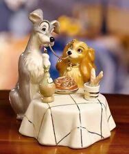 Lenox Disney Lady And The Tramp Figurine NIB With COA