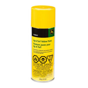 John Deere Yellow Paint Ag & Turf Equipment Spray Can TY25641