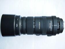 PENTAX FIT Sigma OS APO DG HSM 120 - 400 mm F/4.5-5.6 Lens + HOOD + CAPS + CASE