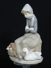 "Retired Lladro Figurine 1267 "" Duck Seller """