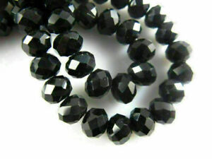 Loose Glass Crystal Faceted Rondelle Bead DIY Jewelry Makings 3mm/4mm/6mm/8mm#